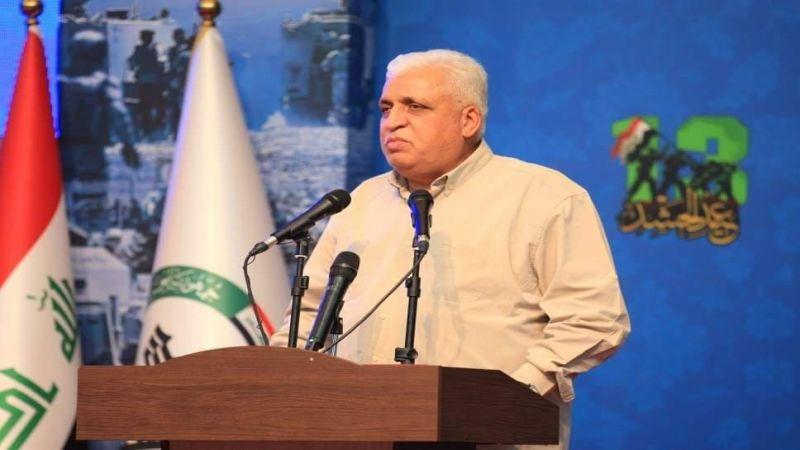 الذكرى السابعة لتأسيس الحشد الشعبي العراقي .. الفياض: الحشد هو سرّ هيبة الدولة