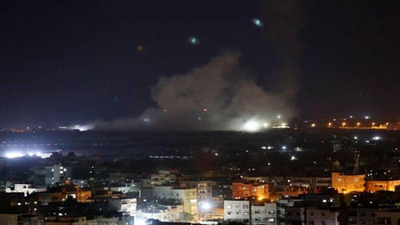 الاحتلال يقصف غزة.. وحماس تعتبره استعراضي