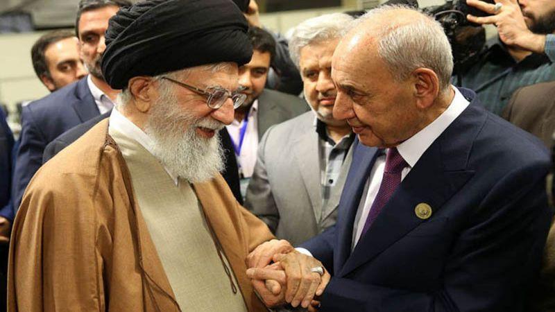 الرئيس بري أبرق إلى الإمام الخامنئي: إيران عظيمة في صنع وصون خياراتها وإستحقاقاتها