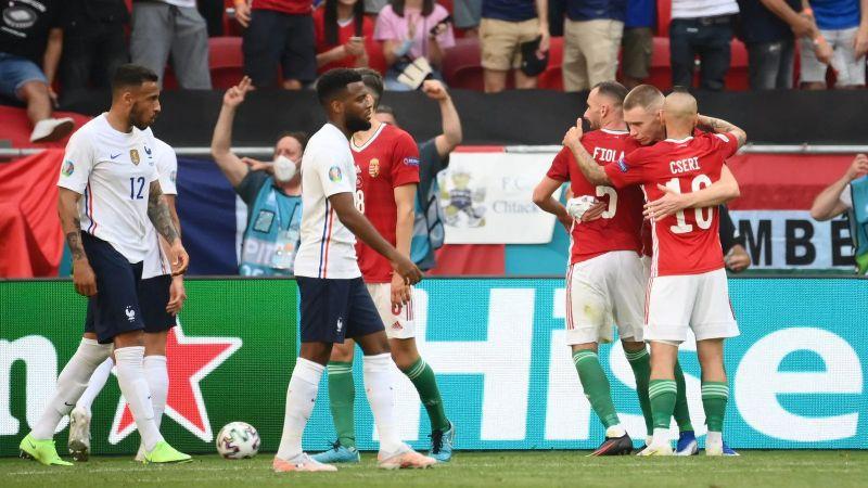 منتخب المجر يخلط أوراق المجموعة السادسة بتعادله مع المنتخب الفرنسي
