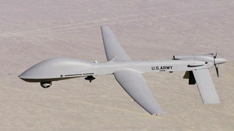 الدفاعات الجوية اليمنية تسقط طائرة تجسسية أمريكية في منطقة المشجح بمأرب