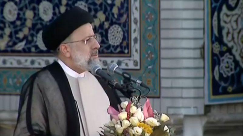 السيد رئيسي: لن نسمح بضياع حقوق الشعب الإيراني