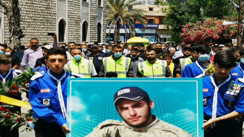 تشييع ضحية طوابير الموت حسين زين في الشرقية