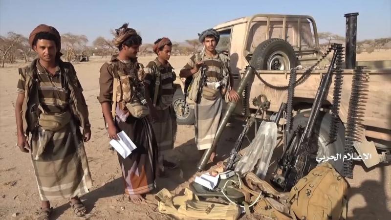الجيش اليمني يسيطر على عدد من المواقع غرب معسكر الخنجر في الجوف