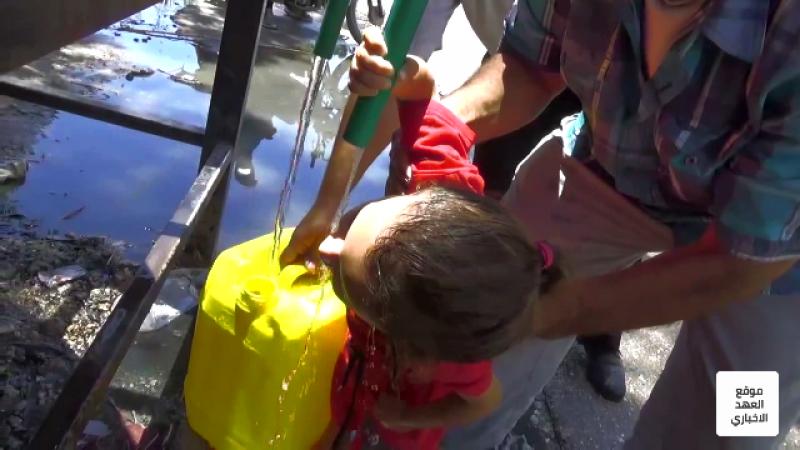 الاحتلال التركي يحرم أهالي الحسكة من مياه الشرب