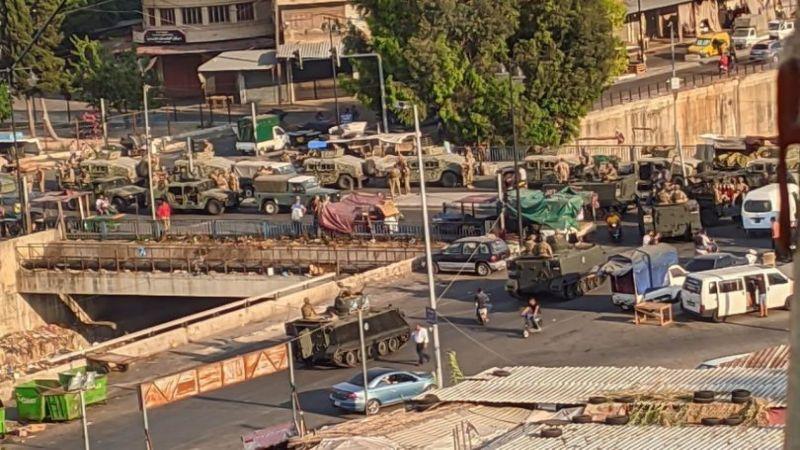 تطورات أمنية شهدتها طرابلس تزامنا مع حملة تحريض استهدفت المؤسسة العسكرية