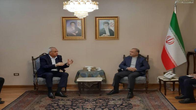 السفير الإيراني الجديد في دمشق يفتتح أعماله بلقاء الفصائل الفلسطينية