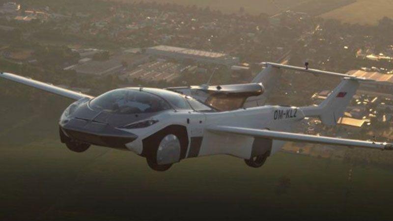 بالفيديو: طائرة تتحوّل لسيارة خلال دقائق