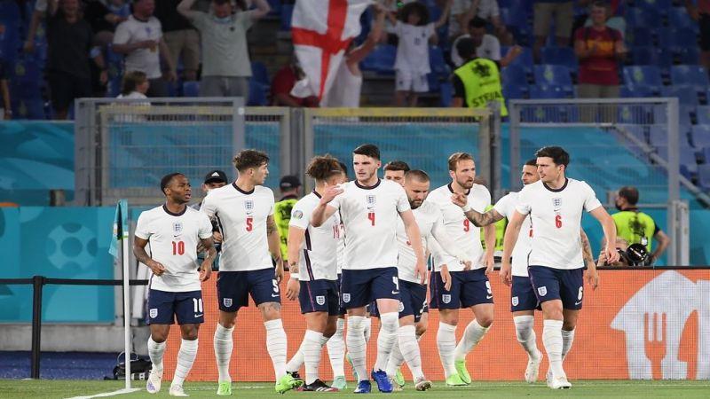 يورو 2020: فوز ساحق لإنجلترا على أوكرانيا.. والدنمارك تهزم تشيكيا