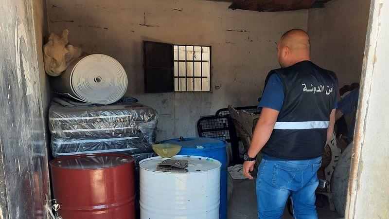 في مخيمات اللاجئين السوريين في البقاع الغربي مخازن لبيع السلاح والمحروقات