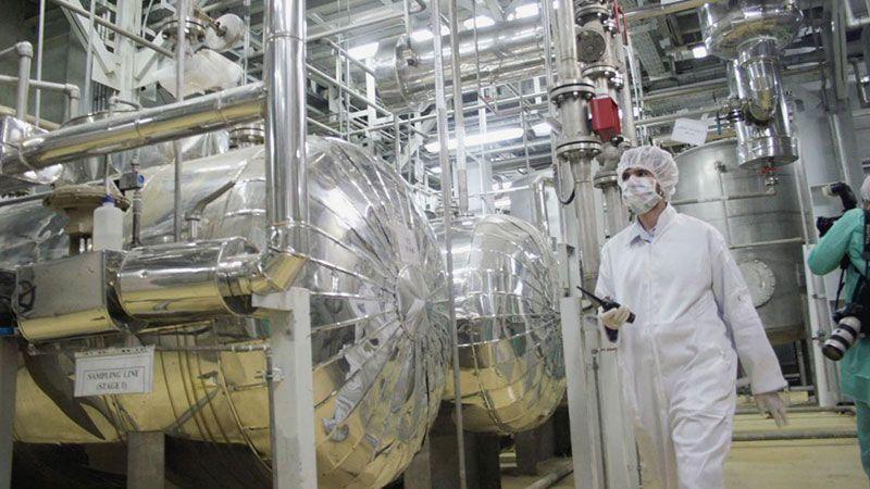 إيران: البدء بإنتاج معدن اليورانيوم المخصب حتى 20%