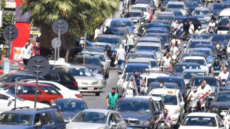 """طوابير البنزين على حالها..مصرف لبنان """"ينكث"""" بالإتفاق"""