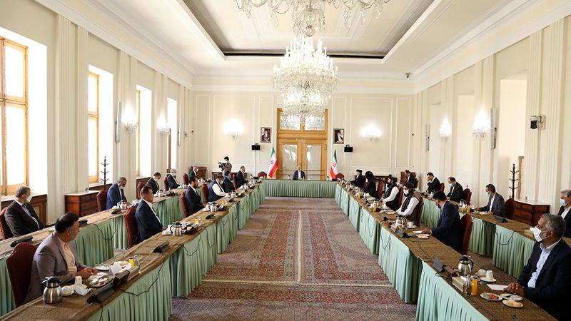 أطراف الأزمة الأفغانية يجتمعون في طهران واتفاقٌ على أهمية الحلّ السلمي