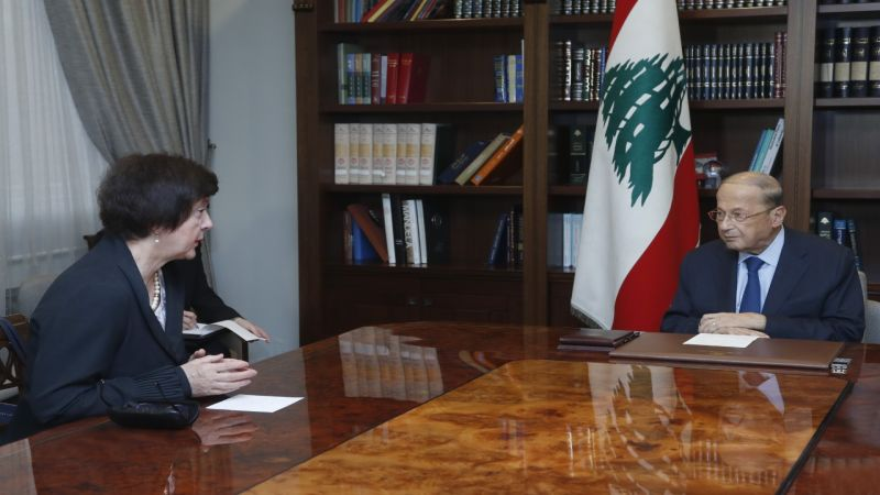 الرئيس عون: حريصون على استئناف مفاوضات الترسيم من دون شروط مسبقة