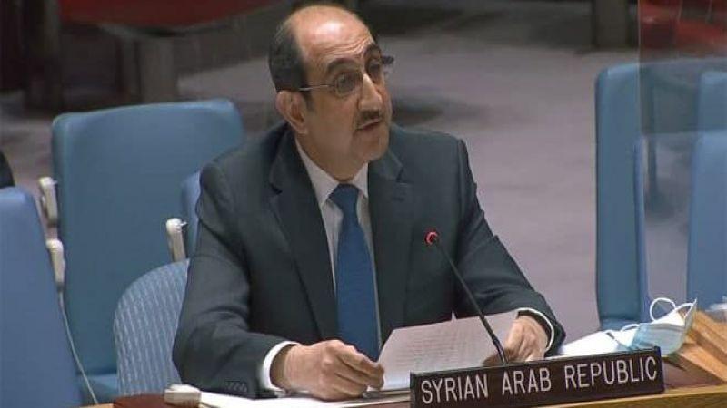 صباغ: آلية مجلس الأمن مسيّسة وفشلت في ضمان عدم وصول المساعدات للإرهابيين