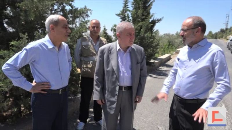 اللواء خير تابع ملفات تعاني منها قرى وبلدات في البقاع الغربي