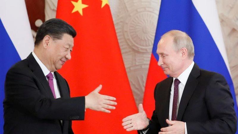 فشل السياسية الغربية عزز العلاقات الصينية الروسية