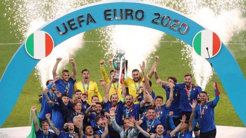 """منتخب إيطاليا بطلًا لـ""""يورو 2020"""""""