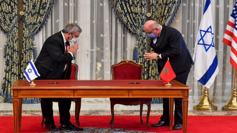 """الكيان الصهيوني والمغرب يوقّعان على اتفاق تعاون في مجال """"الأمن السيبراني"""""""