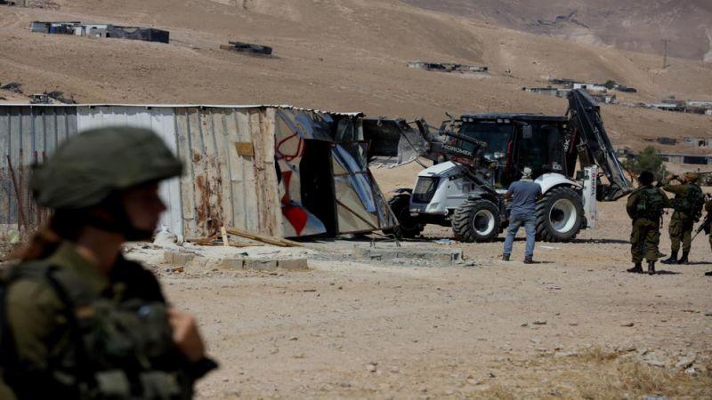 انتهاكات الاحتلال متواصلة: إصابات واعتقالات وعمليات هدم وقطع أشجار واقتحام للأقصى