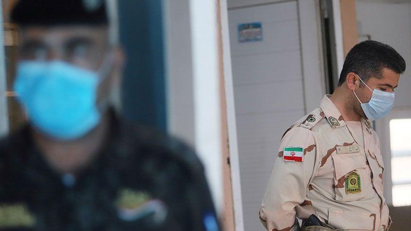 """الجيش الإيراني يكافح """"كورونا"""""""