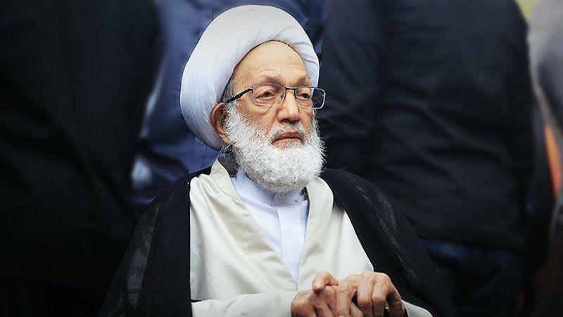 آية الله قاسم: الإفراج عن المعتقلين السياسيين قضية لا تقبل التأجيل