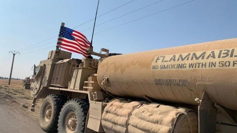 سرقة أميركية مستمرة للنفظ السوري في ريف الحسكة