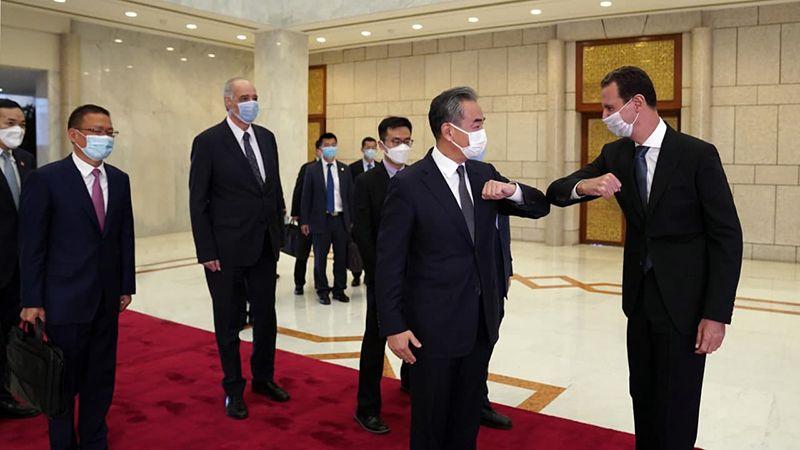 الأسد يلتقي وزير خارجية الصين.. التوافق على الانطلاق نحو مرحلة جديدة في تعزيز العلاقات