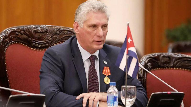 الرئيس الكوبي لبايدن: ألغِ الحصار اذا كنتَ انسانيًا