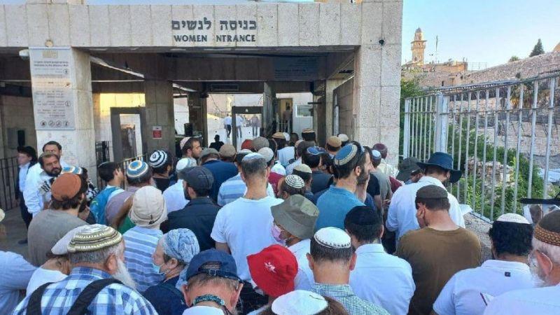 مئات المستوطنين يقتحمون الأقصى واعتداءات على المرابطين فيه