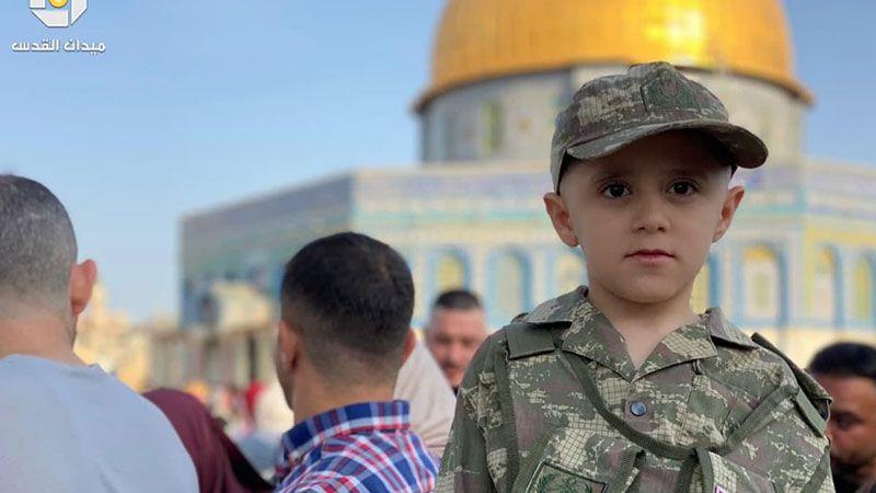 بهجة عيد الأضحى في الأقصى المبارك