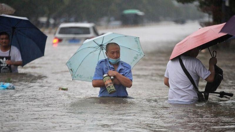 الصين: أمطارٌ مدمرة تودي بحياة 12 شخصاً