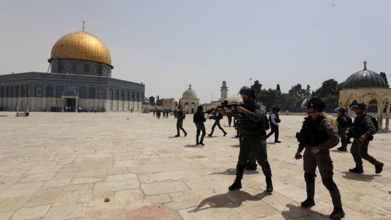 تقديرات جيش العدو: صورايخ لبنان كانت ردًا على اقتحام المسجد الأقصى