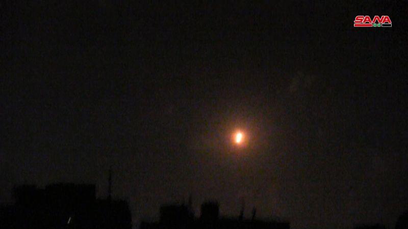 الدفاعات الجوية السورية تتصدى لعدوان إسرائيلي على القصير في حمص وتسقط غالبية الصواريخ