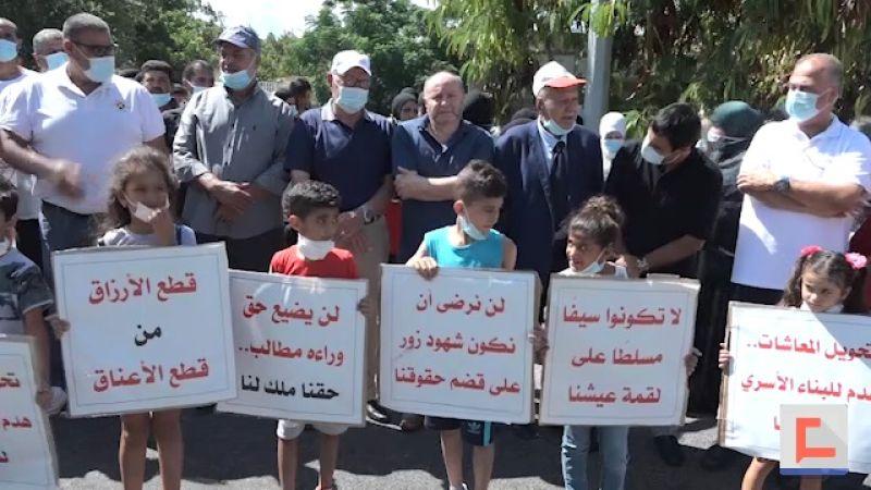 اعتصام للعاملين في مقر اليونيفيل احتجاجاً على انتهاك مراسيم تنظيم العمل