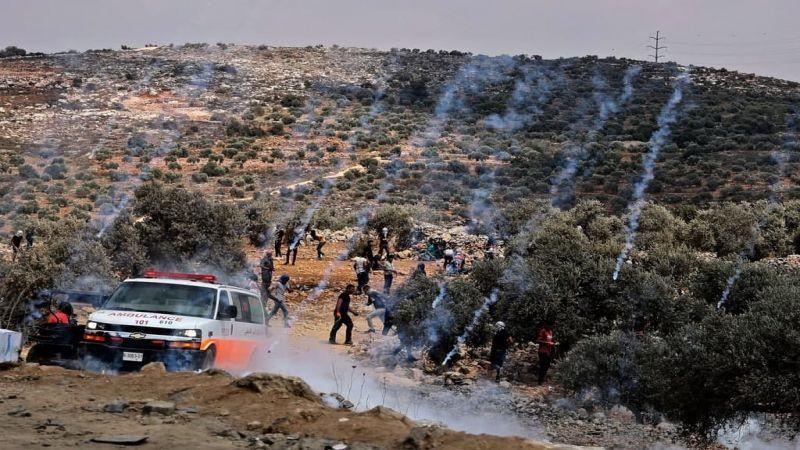 فلسطين: إصابات عدّة خلال مواجهات متفرّقة مع قوات الإحتلال