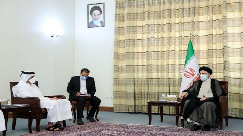 رئيسي لوزير خارجية قطر: إيران أثبتت أنها صديق وشريك يعتمد عليه
