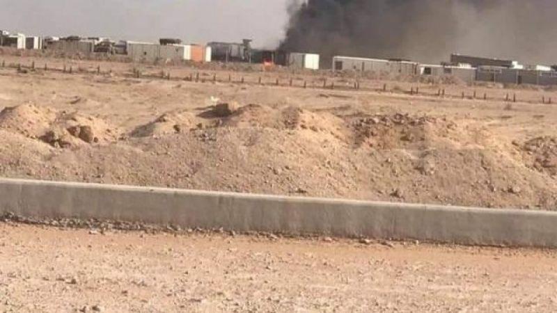 إستهداف معسكر للحشد الشعبي بطائرة مسيرة في محافظة النجف الأشرف
