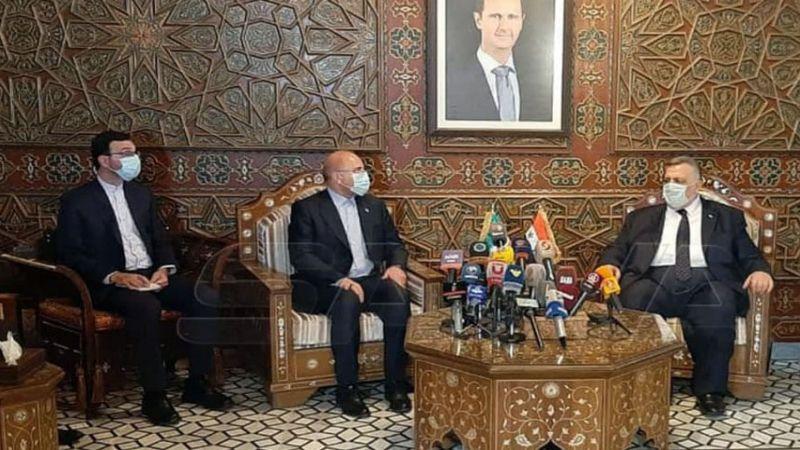 قاليباف في دمشق لتوسيع التعاون الاقتصادي
