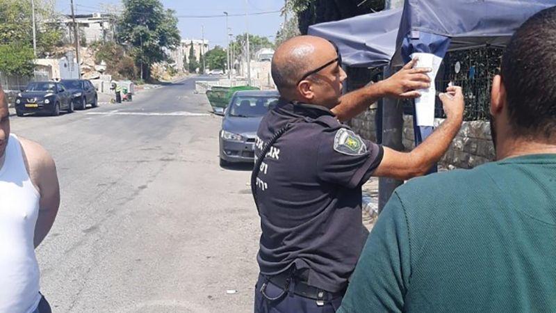 الفلسطينيون يُجبرون الاحتلال على التراجع عن هدم خيمة الشيخ جرَّاح