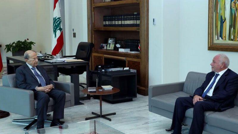 الرئيس عون للقاضي عويدات: مستعد للادلاء بافادتي في ملف انفجار المرفأ
