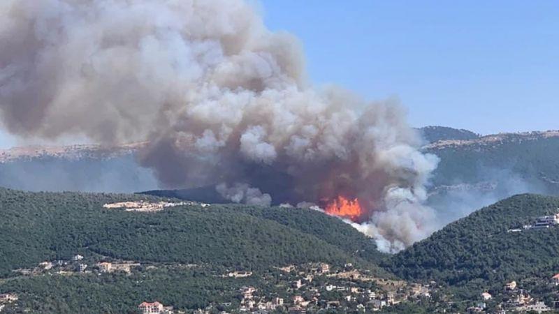 بالصور: كارثة الحرائق في الشمال