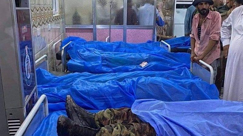 العراق: تشييع ضحايا فاجعة مجلس العزاء جنوب محافظة صلاح الدين