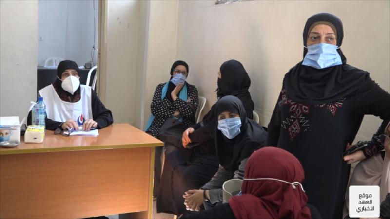 الهيئة الصحية الإسلامية تعاين اللاجئين الفلسطينين في مخيمي نهر البارد والبداوي