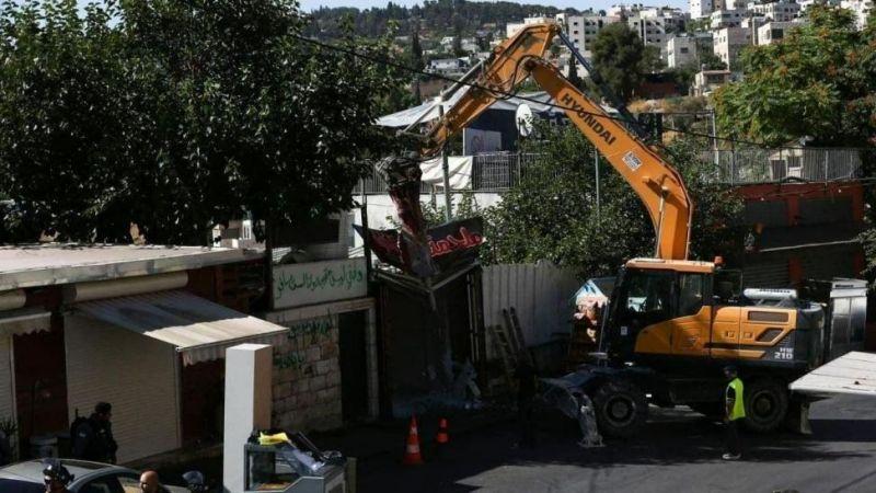 انتهاكات الاحتلال لبلدة حزما شمال القدس متواصلة