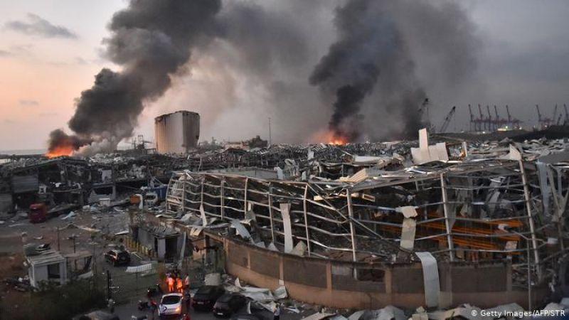 انفجار مرفأ بيروت..