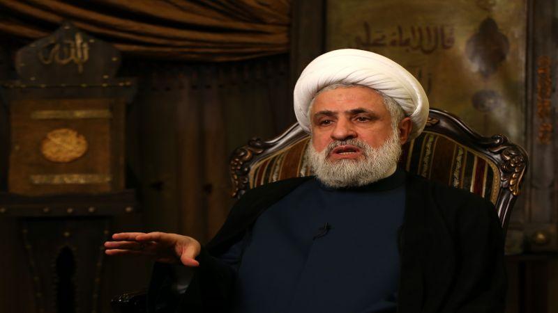 """الشيخ قاسم: """"إسرائيل"""" تنتهك سيادة لبنان وإذا لم نرد عليها سوف تستمر في الإعتداء"""