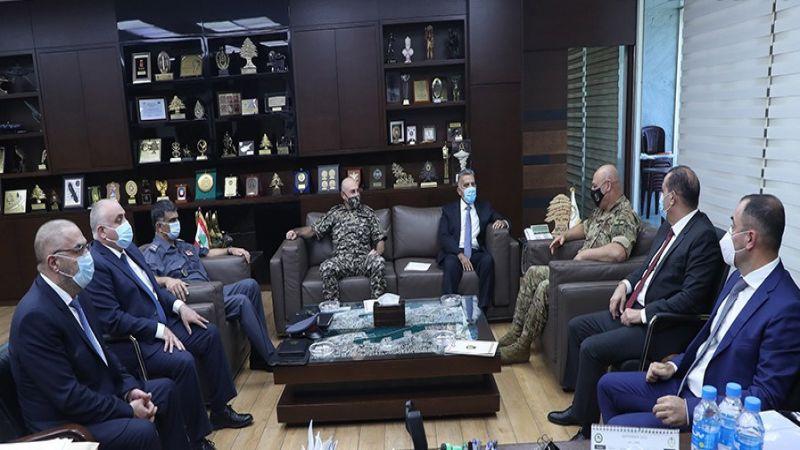 اجتماع لقائد الجيش بقادة الأجهزة وخطوات عملانية للحؤول دون تكرار الحوادث الأمنية