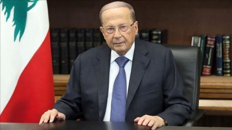 الرئيس عون دعا في رسالة لمجلس النواب إلى مناقشة الأوضاع المستجدة بعد قرار سلامة