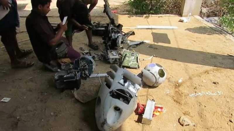 القوات اليمنية تصطاد طائرة تجسّس أمريكية